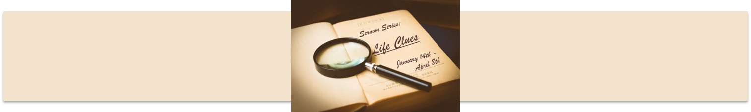 life clues website header long